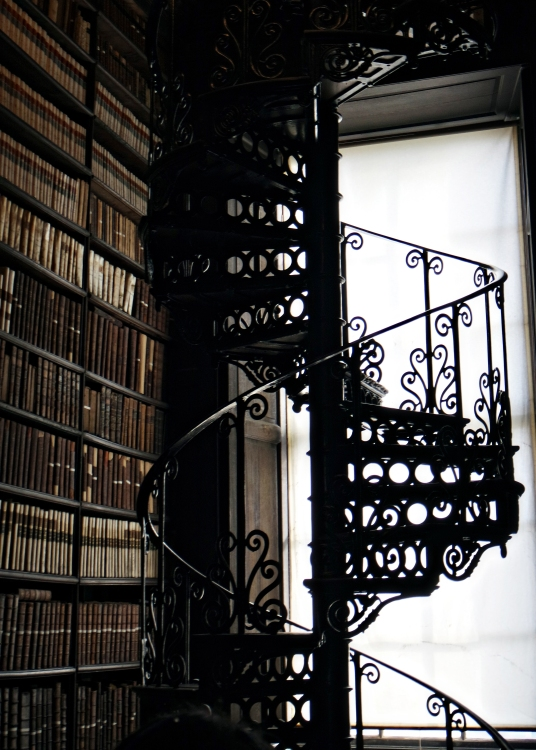 Cute Spiral Stair in Said Library
