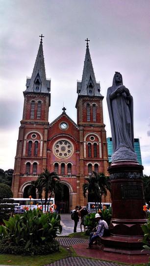 Notre Dame in Vietnam.