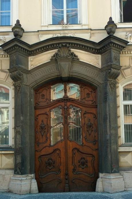 Intricate doors.