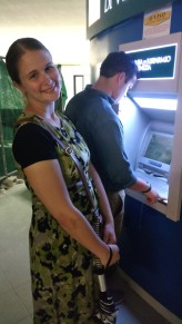 ATMs were our friends.
