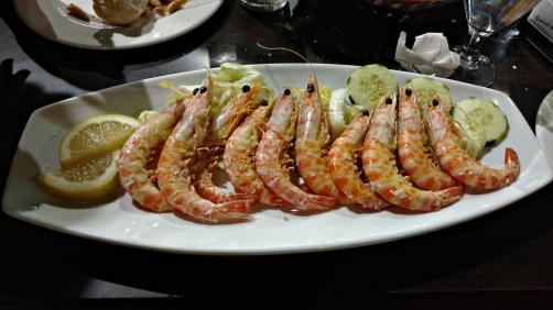 My happy shrimp.