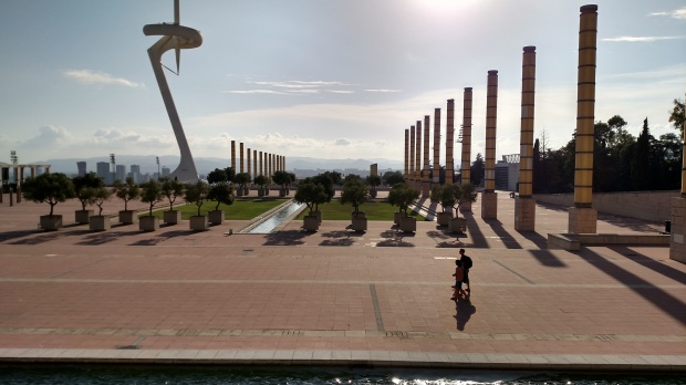 View from the Olympic Sports Complex.