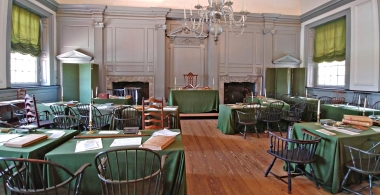 Where the Declaration of Independence was signed!