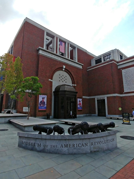 The Museum of the American Revolution.