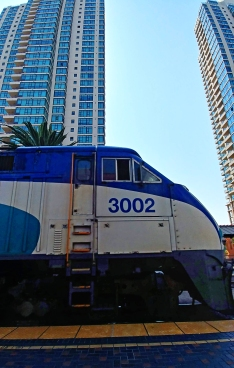 The coaster train.