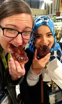 Amish donuts, yum!