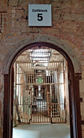 Eastern State Penitentiary.