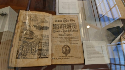 A copy of the Martyr's Mirror, printed in Ephrata.