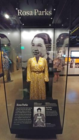 Rosa Parks's dress.
